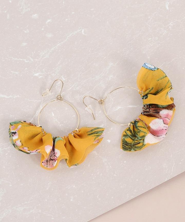 Cassia Floral Earrings