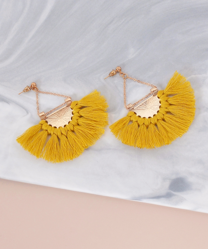 Janelle Tassel Earrings