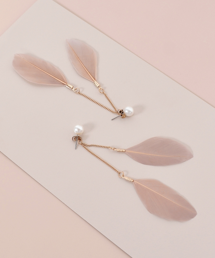 Avian Feather Earrings