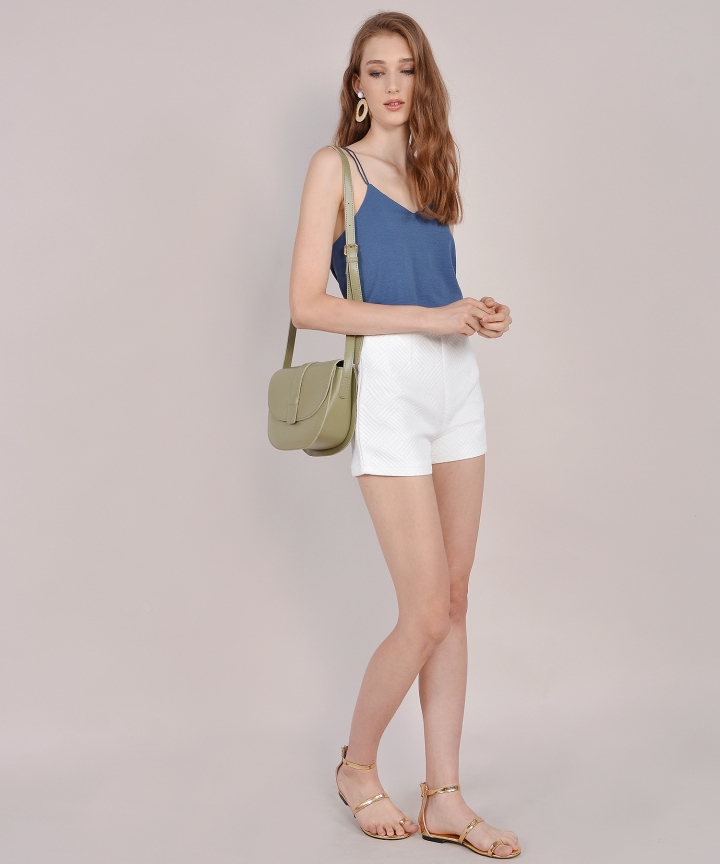 Cadence Strappy Camisole - Lucerne Blue