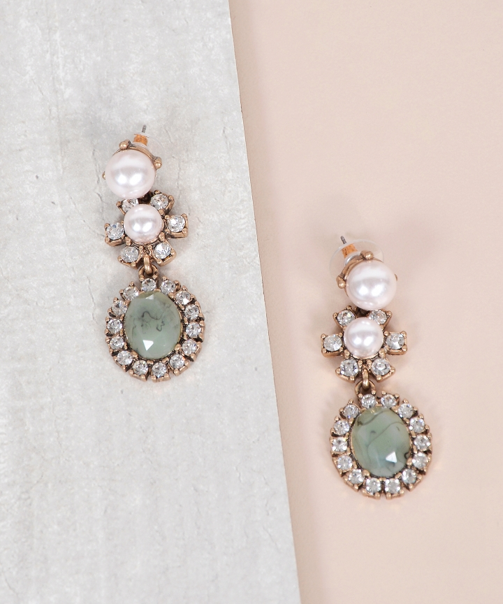 Marina Embellished Earrings