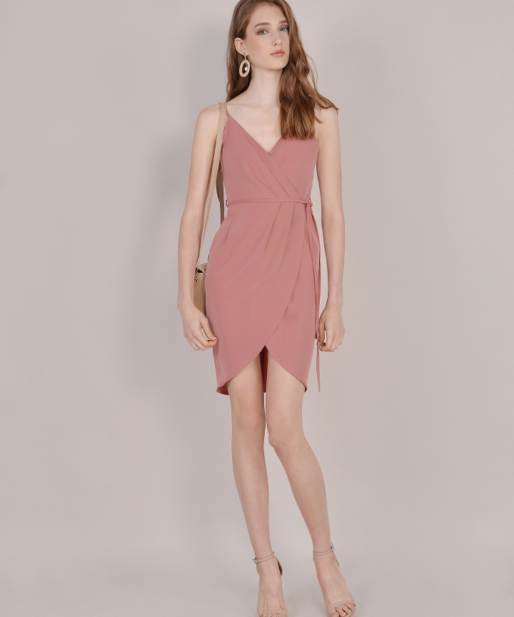 Lisbon Tulip Dress - Rose (Restock)