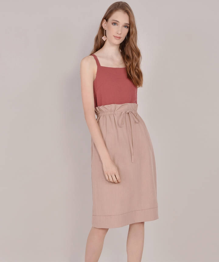 Hannah Basic Top - Marsala