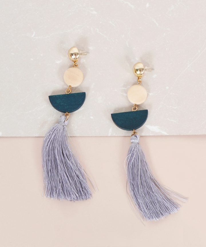 Medley Tassel Earrings