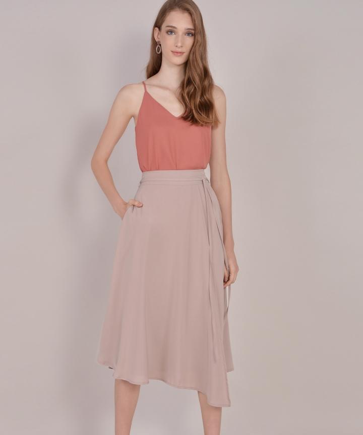 Anise Basic Camisole - Coral Rose