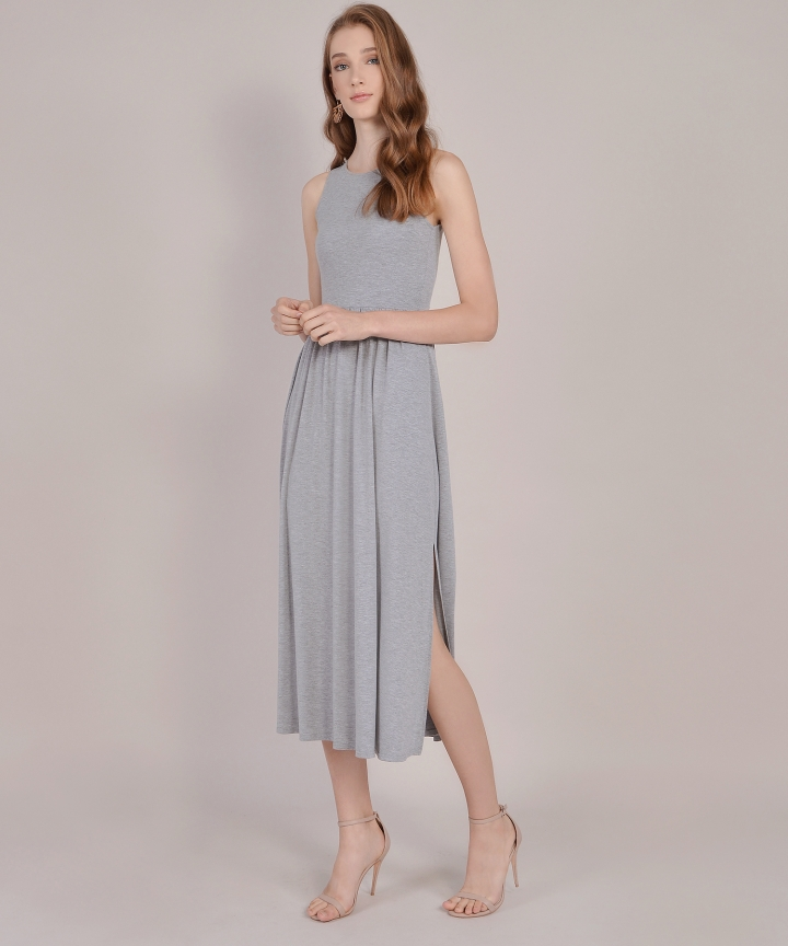 Winnie Cotton Maxi - Grey
