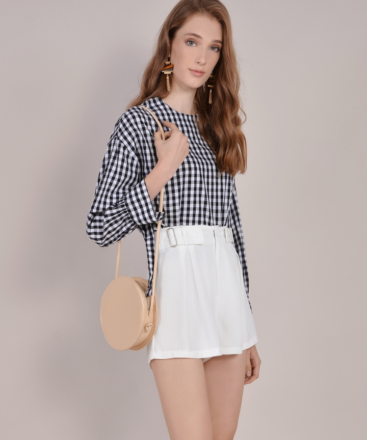 Julie Gingham Blouse