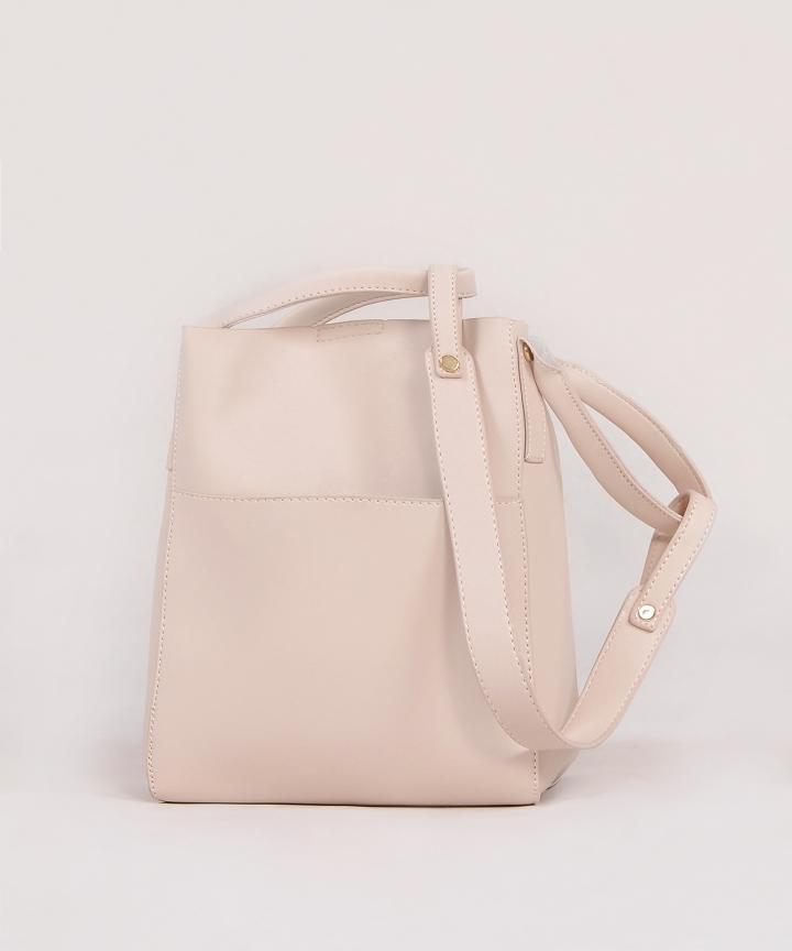 Mascarpone Bucket Bag - Cream