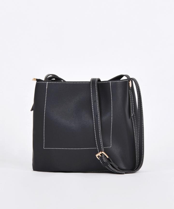 Riley Structured Sling Bag