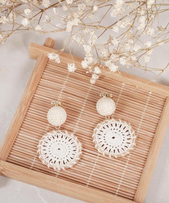 Fiji Crochet Earrings