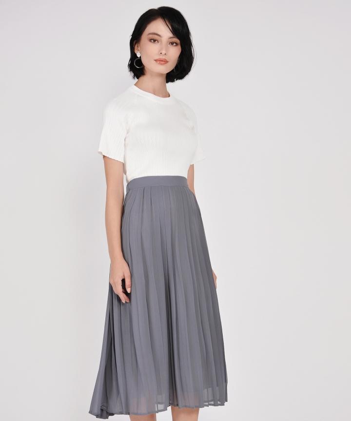 Salon Knit Top - White