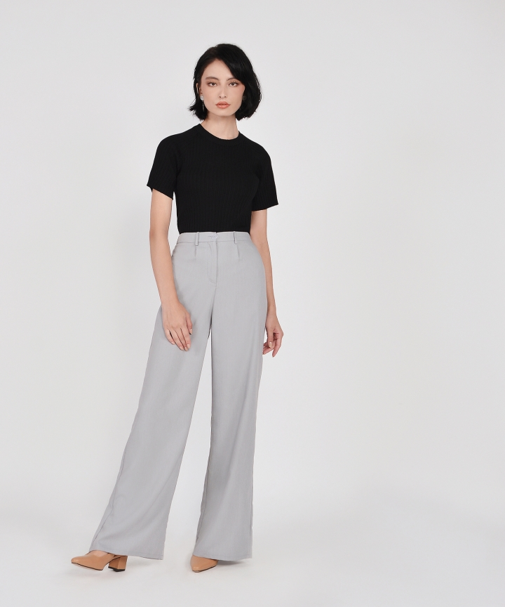 Salon Knit Top - Black