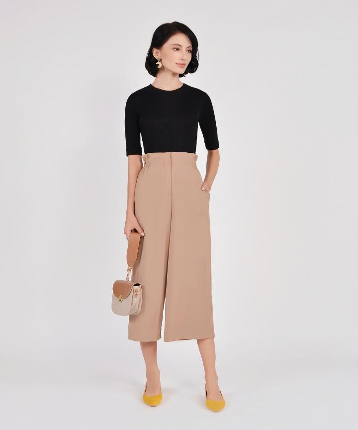 Clove Knit Top - Black