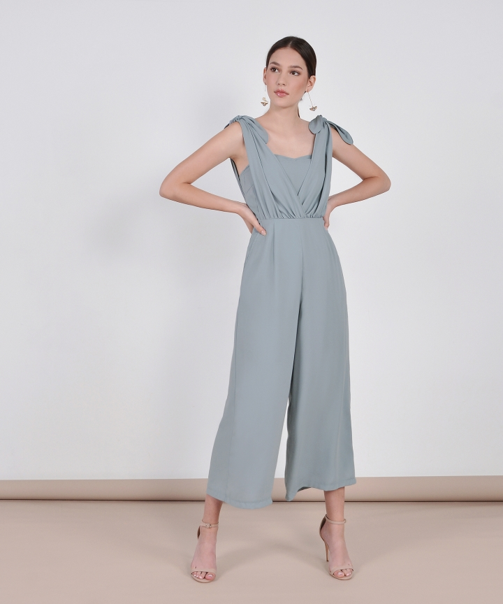 HVV Atelier Laurel Jumpsuit - Mist Blue
