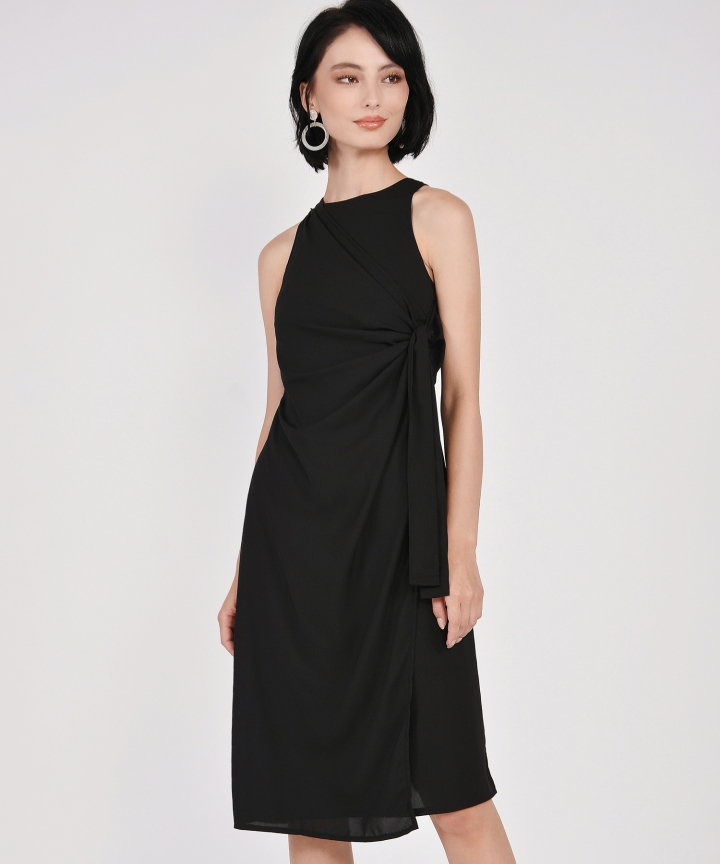 Estelle Knot Midi - Black