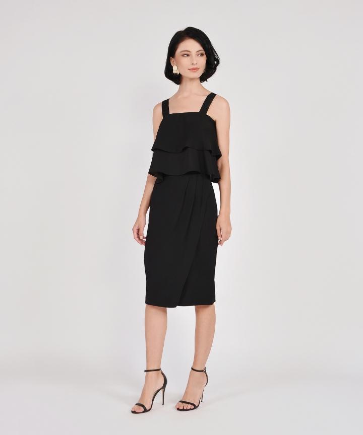 Lafayette Midi Skirt - Black
