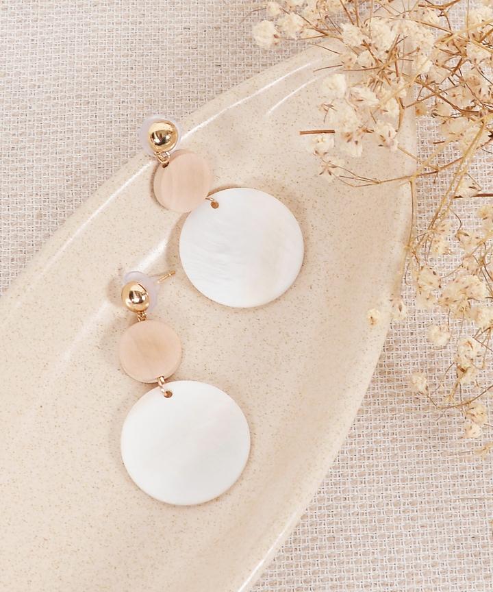 Julia Circle Earrings
