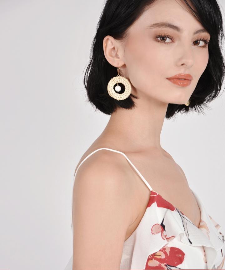 Agnes Circle Earrings