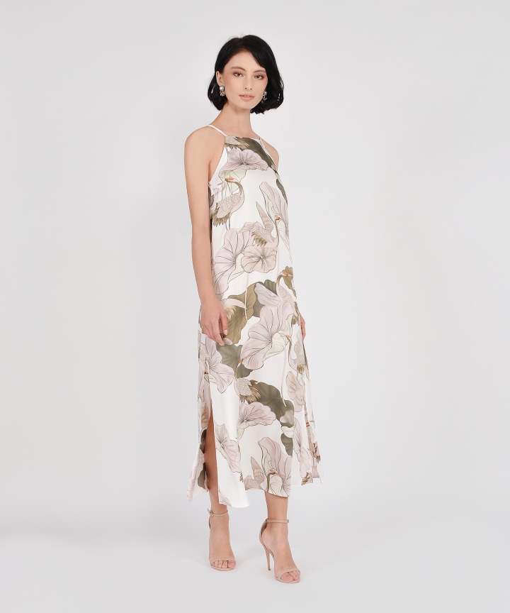 Devina Floral Maxi - White (Restock)