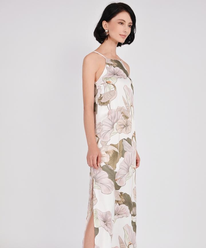 Devina Floral Maxi - White (Backorder)
