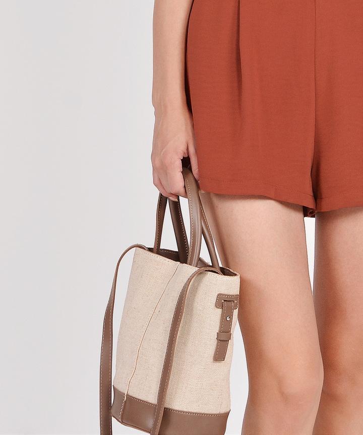 Alba Bucket Bag - Brown