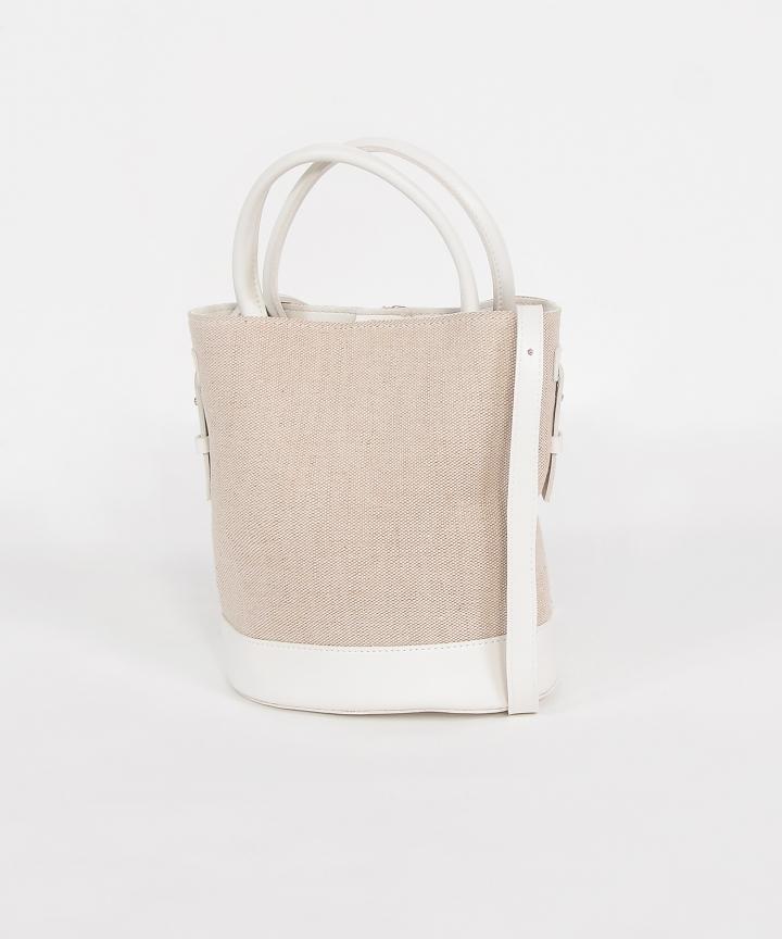 Alba Bucket Bag - White