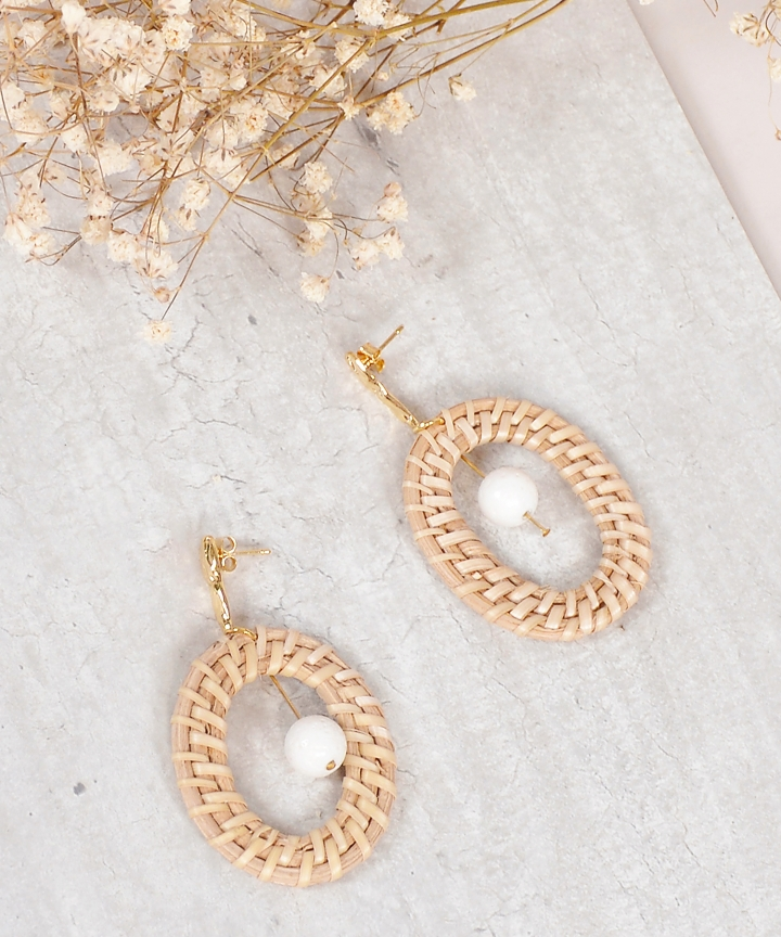 Rhea Woven Earrings
