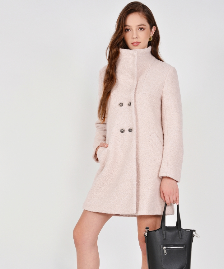Aurora Classic Wool Coat - Nouge (Backorder)