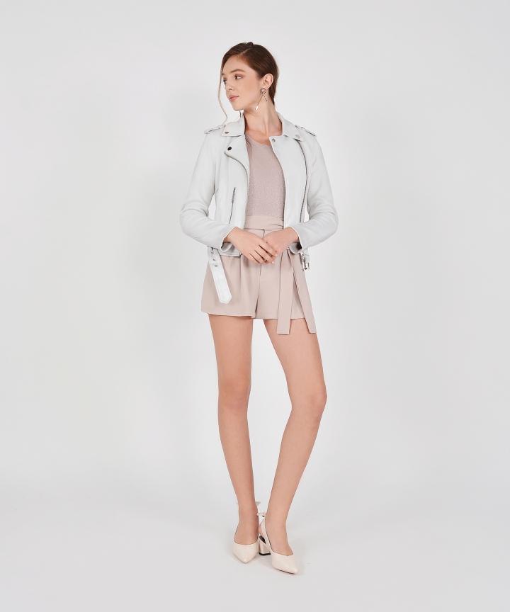 Alexis Suede Jacket