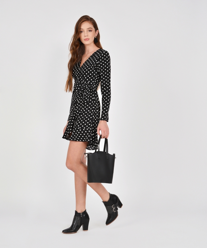 Dion Polka Dot Dress