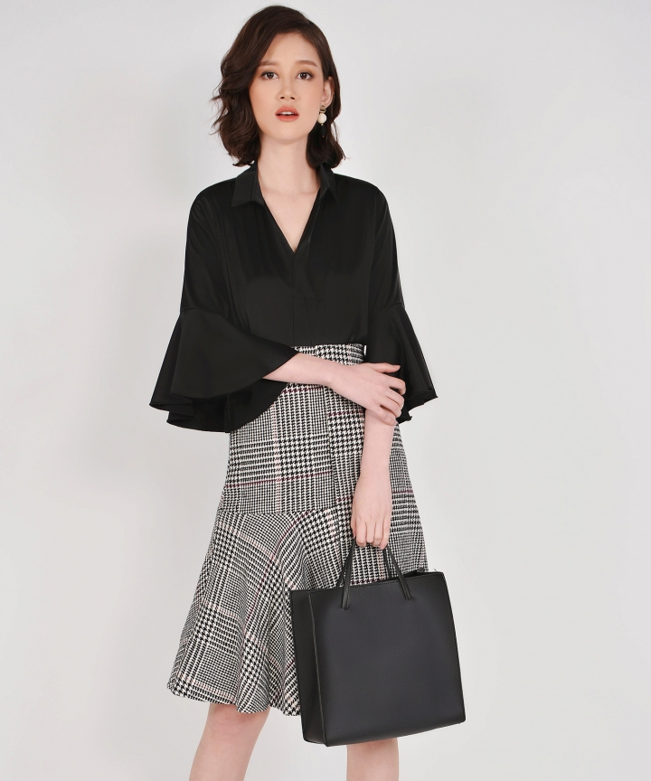 Quincy Convertible Handbag - Black