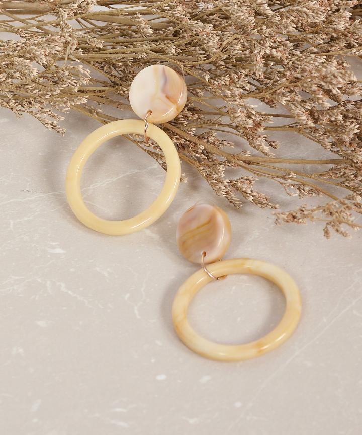 Veronica Marble Earrings