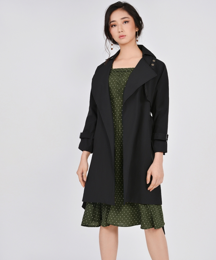 Sojourn Coat - Black