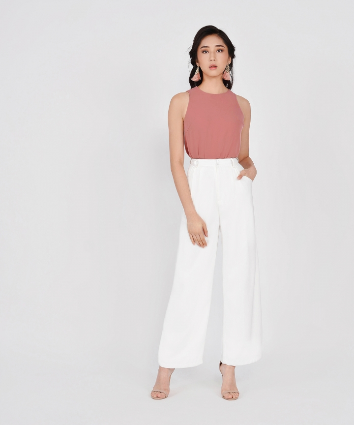 Andre Classic Tank - Rose