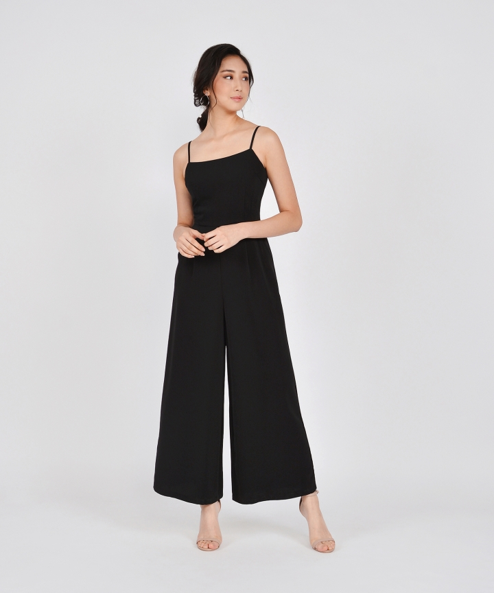 Glossier Jumpsuit - Black