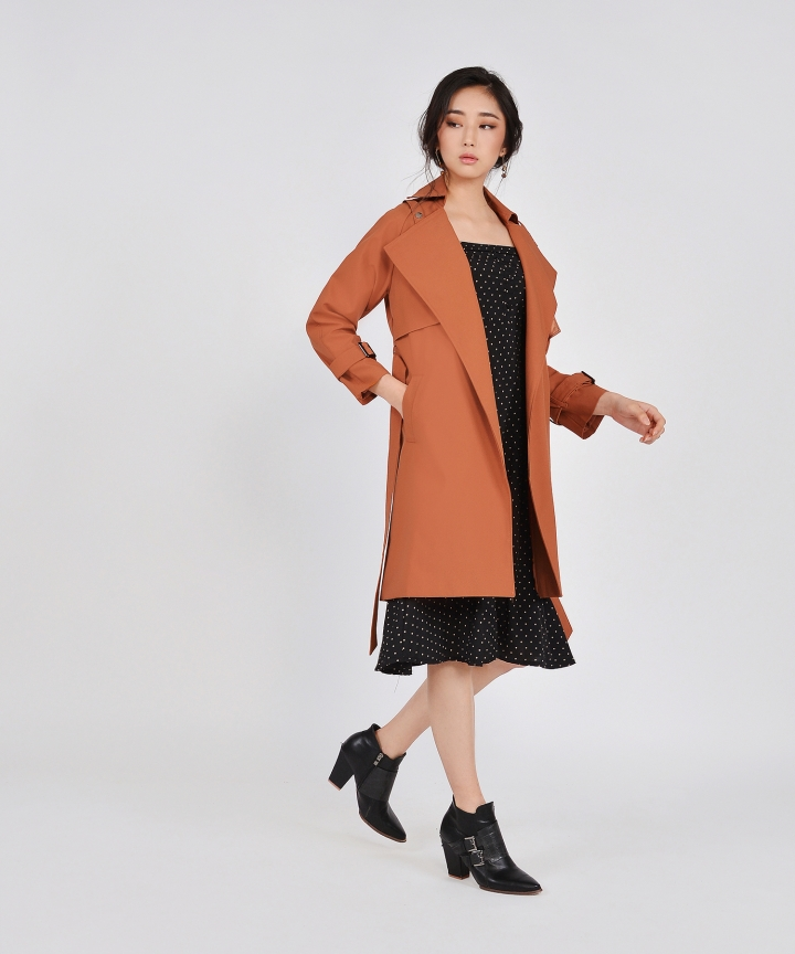 Sojourn Coat - Burnt Orange