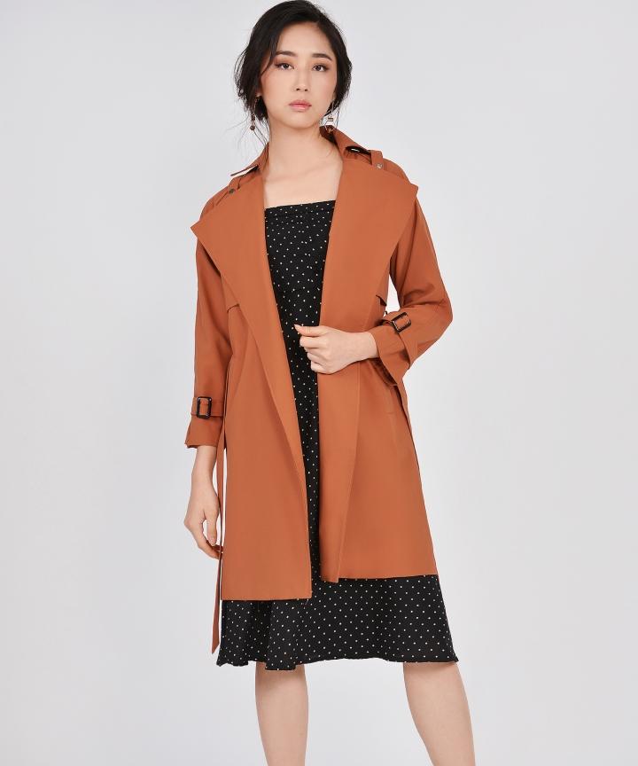 Sojourn Coat - Burnt Orange