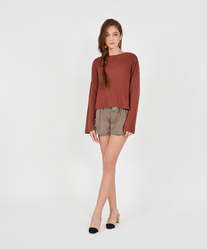 Morgan Sweater - Redwood