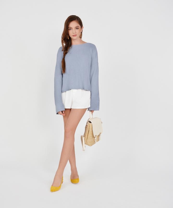 Morgan Sweater - Dust Blue