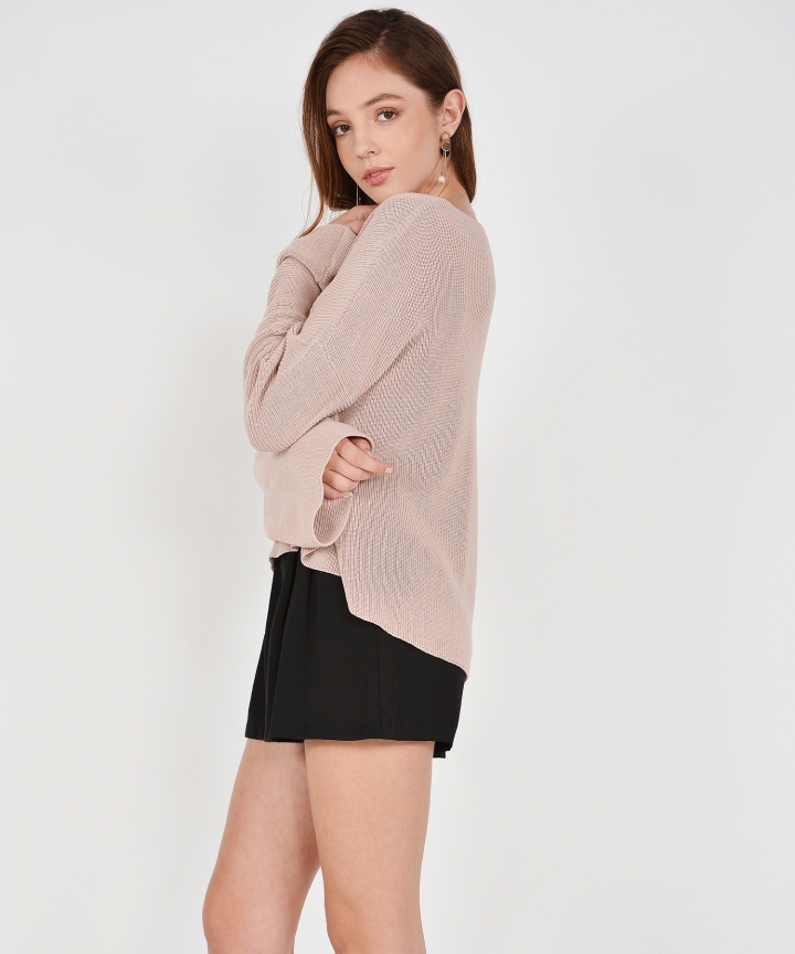 Morgan Sweater - Dust Pink