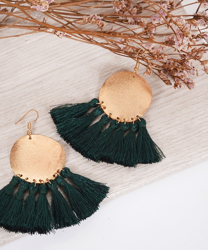 Tempest Tassel Earrings
