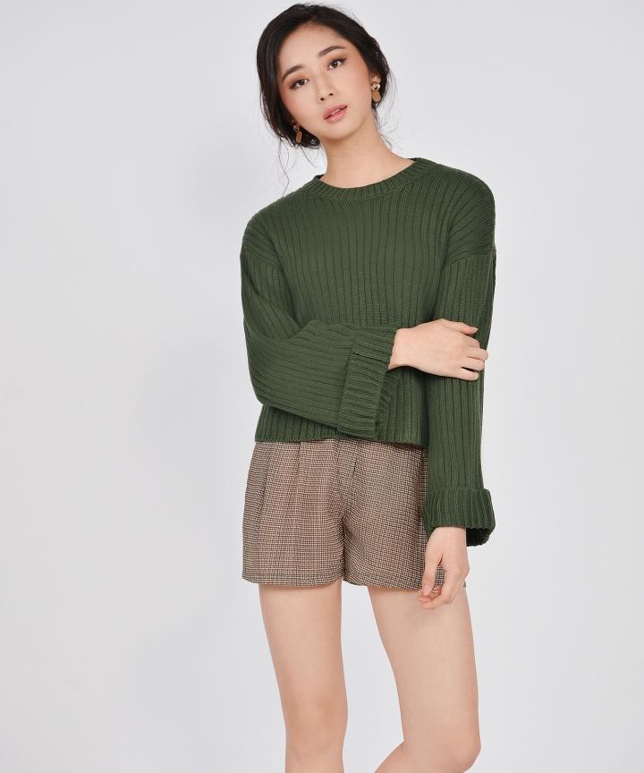 Prescott Printed Shorts - Green
