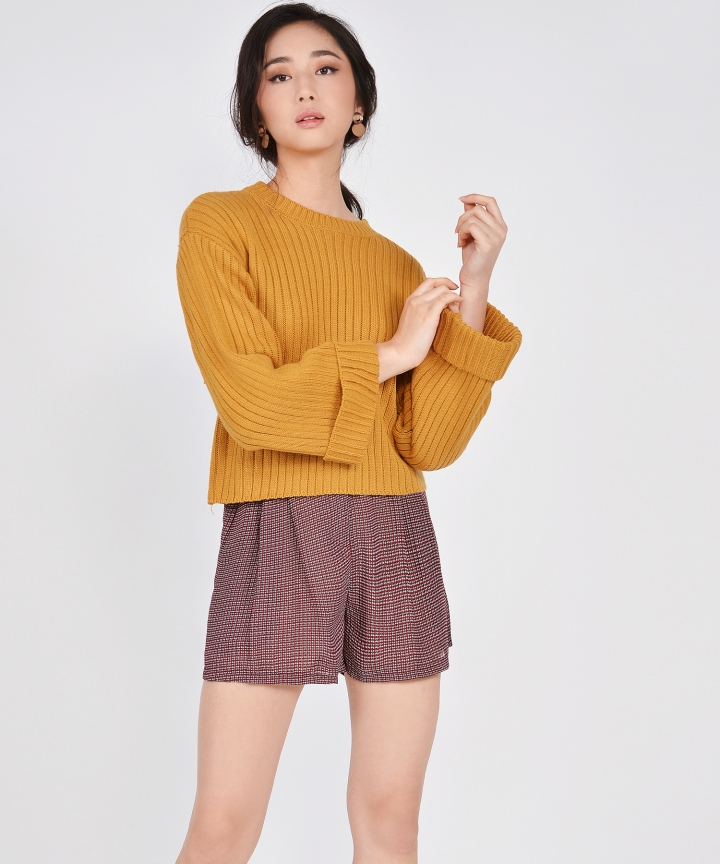 Maya Sweater - Mustard
