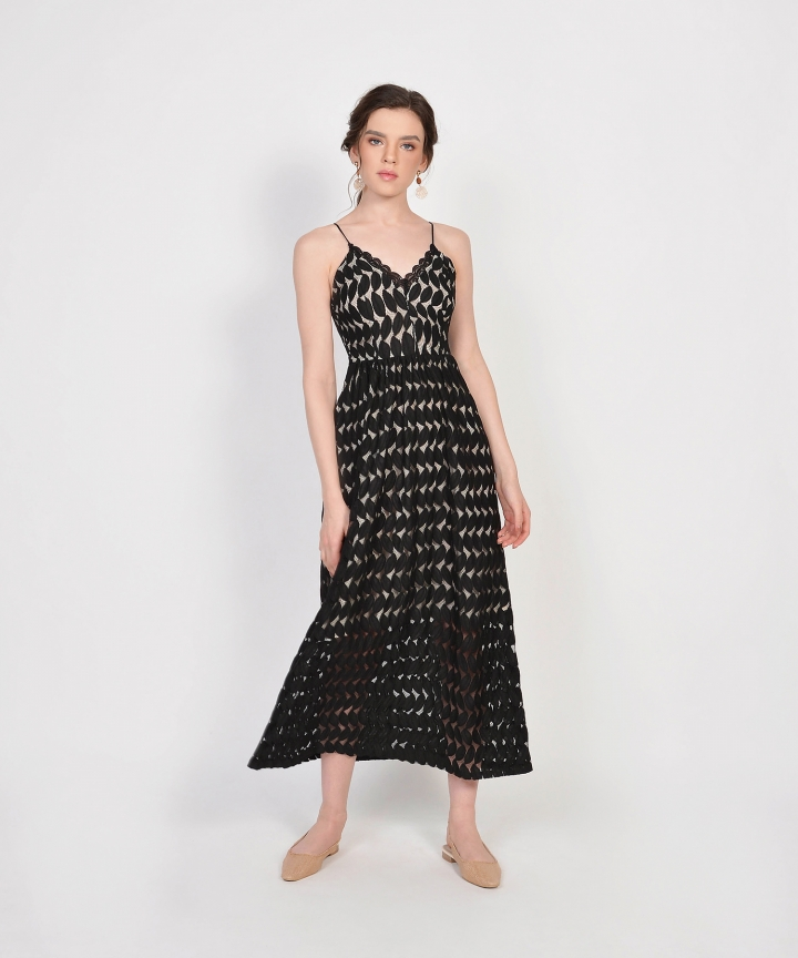 Luxembourg Lace Maxi - Black