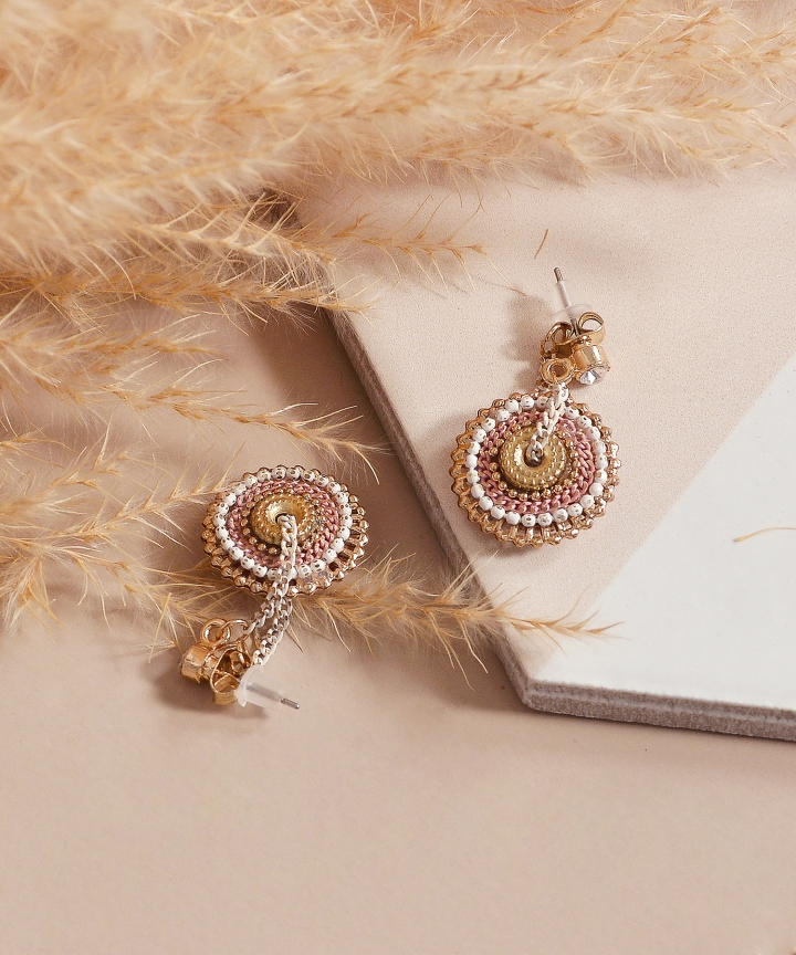 Meridian Earrings - Pink (Backorder)