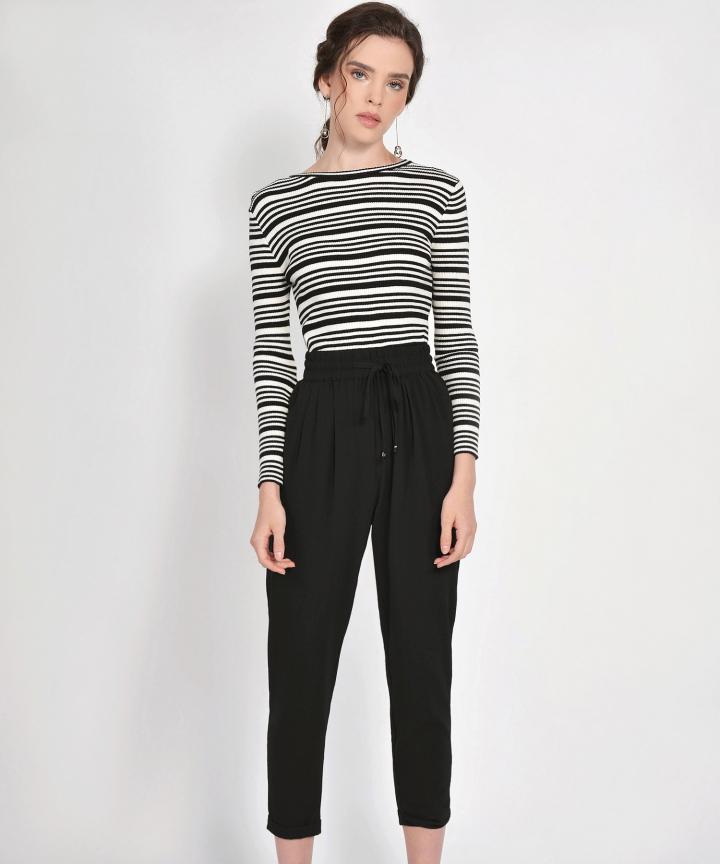 Emma Striped Knit Top