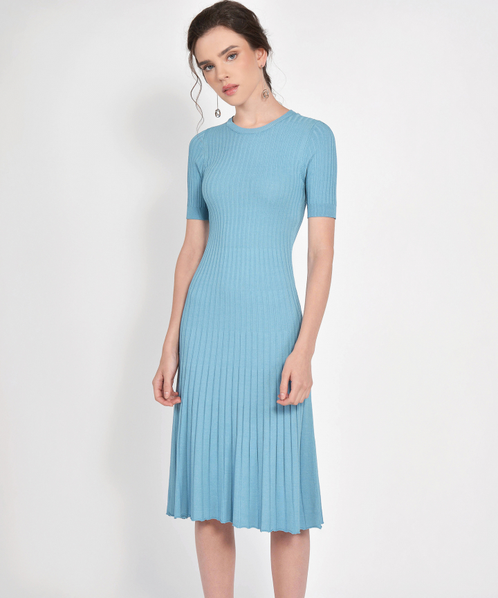 Volley Knit Midi - Blue