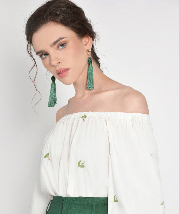 Adonis Tassel Earrings