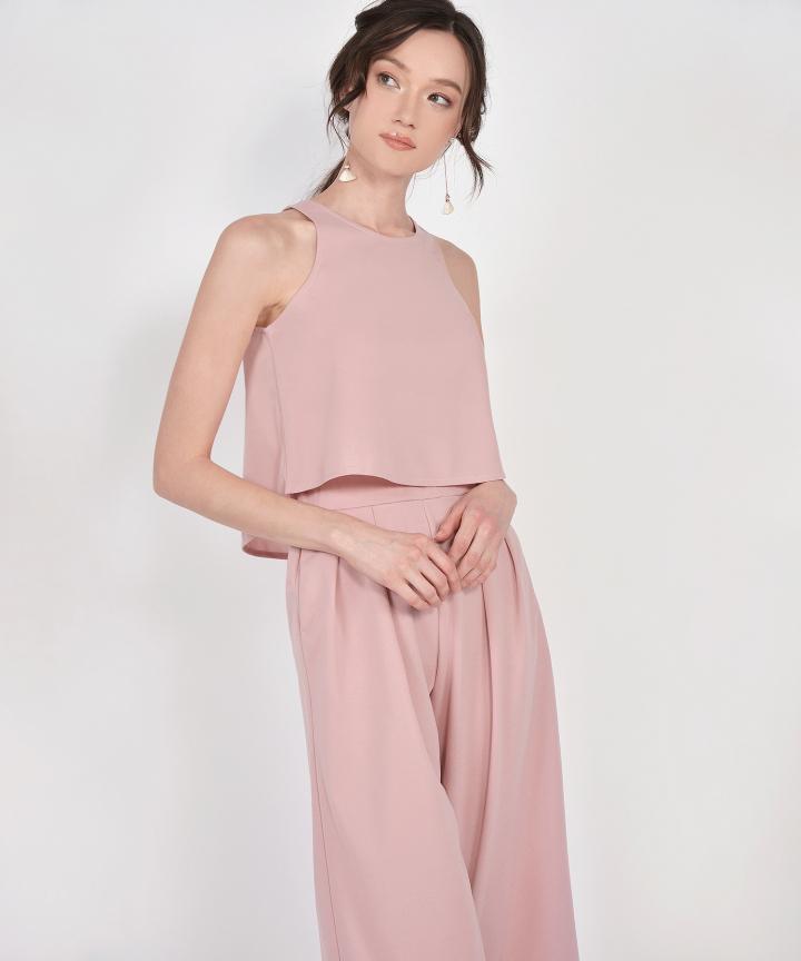 Dion Two-Piece Set - Blush Pink