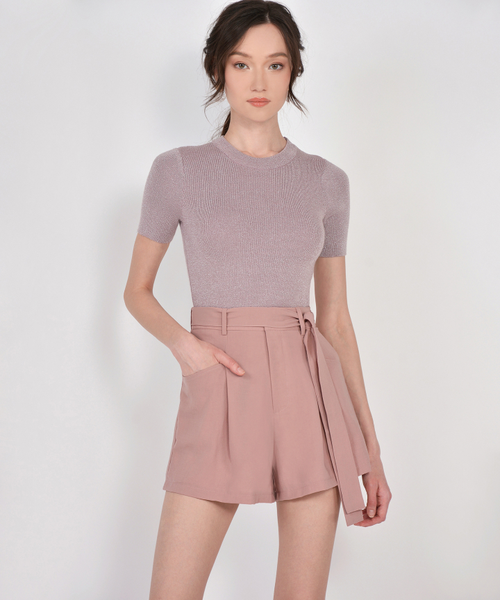Lumi Knit Top - Pale Lavender